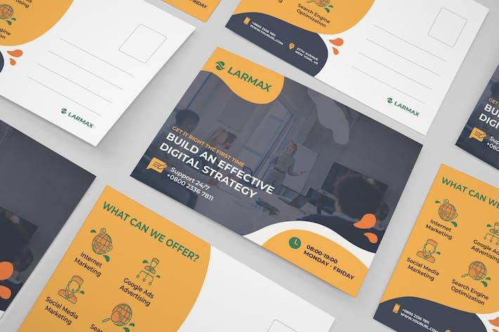 Thumbnail for Entreprise, Carte postale d'entreprise