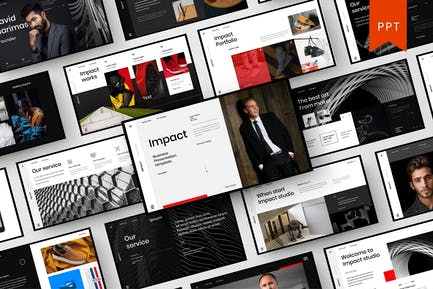 Impact – Business PowerPoint Template