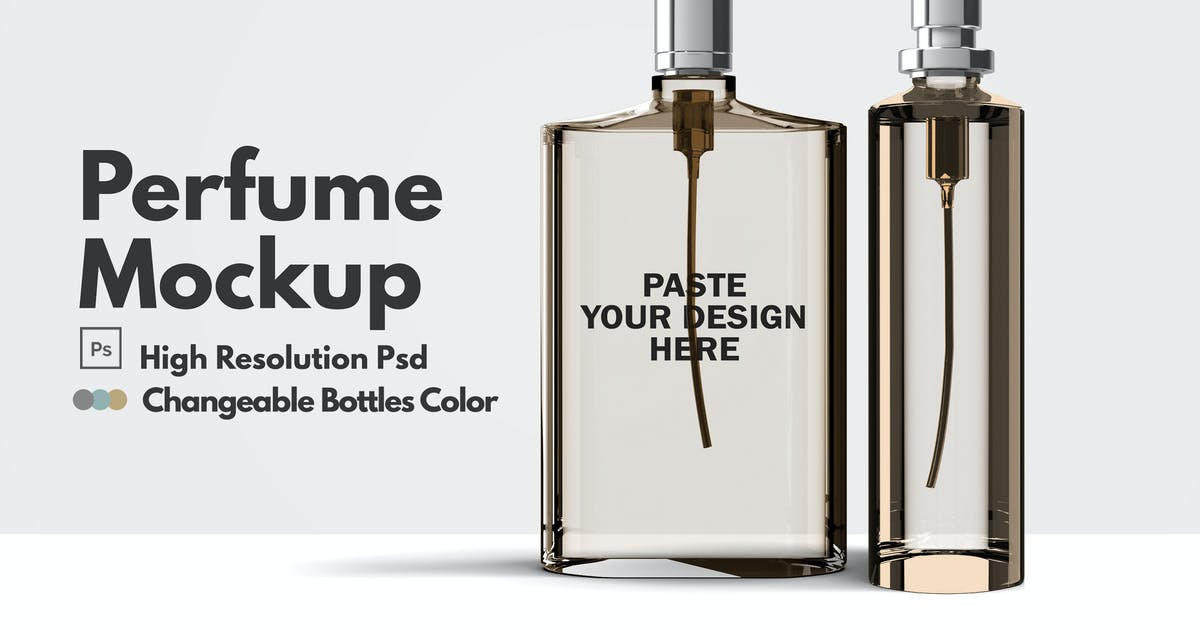 Download Perfume Mockups V.2 by GraphicMonday