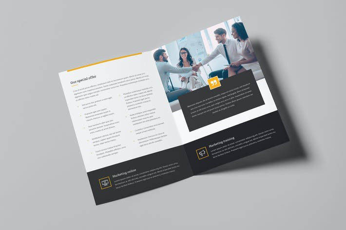 Thumbnail for Brochure – Marketing Bi-Fold