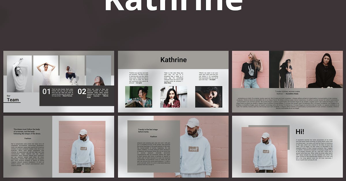 Download Kathrine - Powerpoint by graptailtype