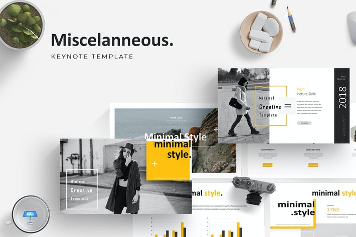 Cover Image For Misscelanneous - Keynote Template