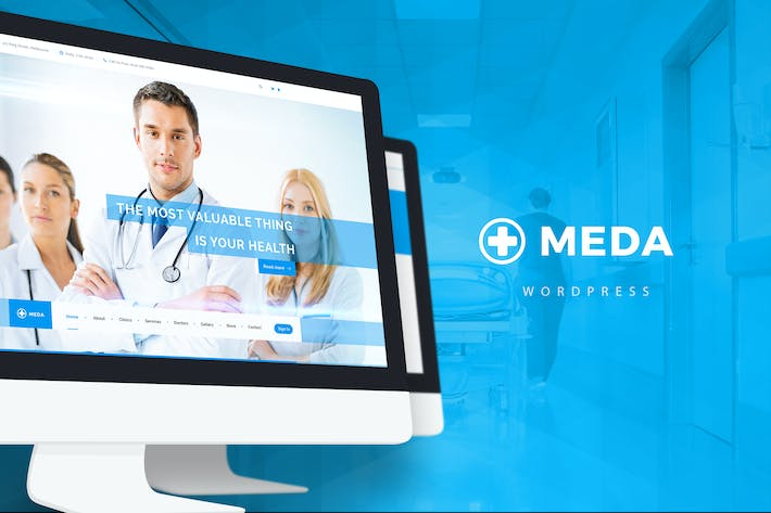 Thumbnail for Meda — Health and Medical WordPress Theme
