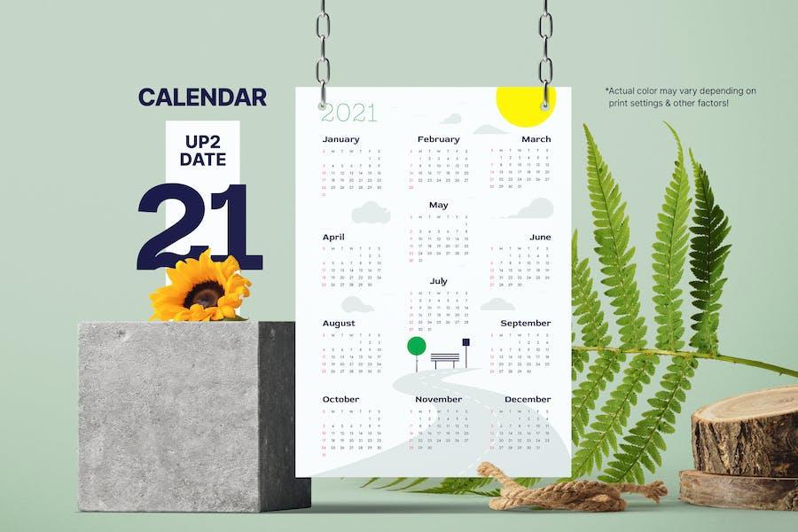 Sunny Calendar 2021