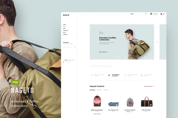 Thumbnail for Bageto - Bag & Backpack Store Online