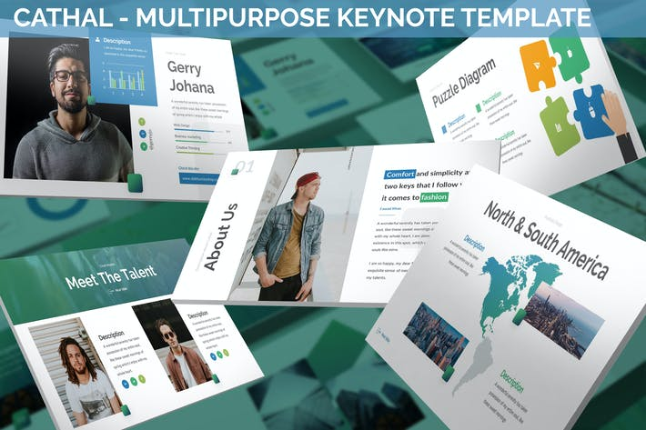 Thumbnail for Cathal - Multipurpose Keynote Template