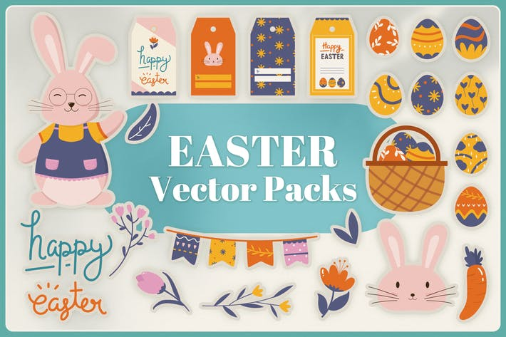 Thumbnail for Easter Vector Pack