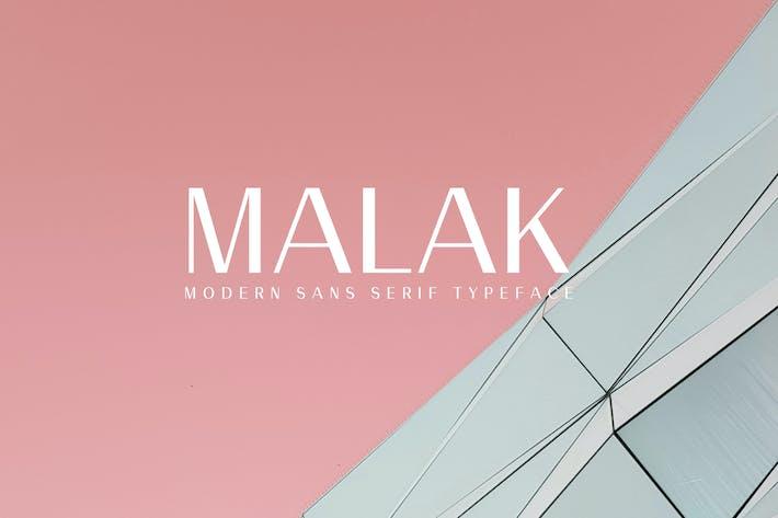 Thumbnail for Malak Sans Serif Font Family