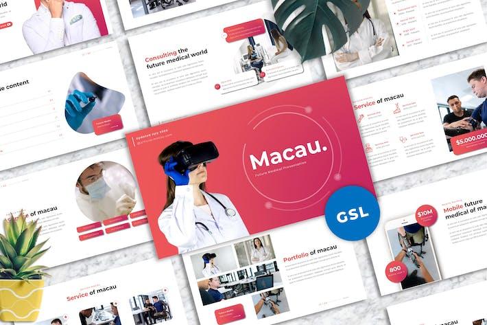 Thumbnail for Макао - Medic Googleslide Шаблон