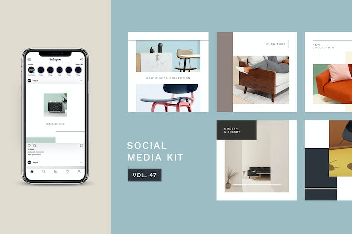 Thumbnail for Social Media Kit (Vol.47)