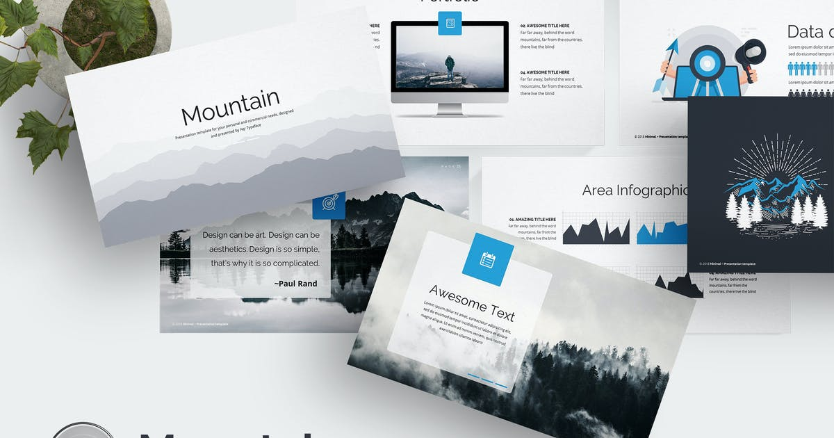 Download Mountain Keynote Template by Unknow