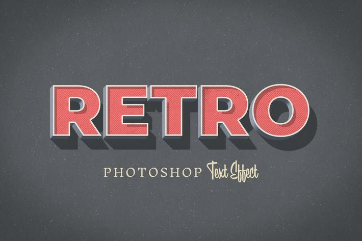 Thumbnail for Retro Text Effect