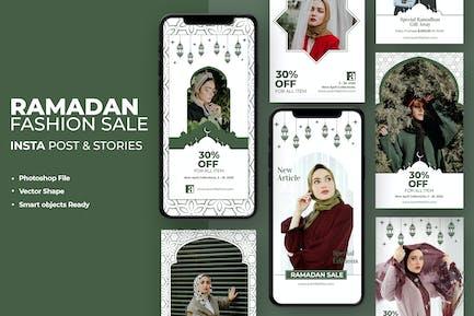 Ramadan Kareem Fashion Instagram Template