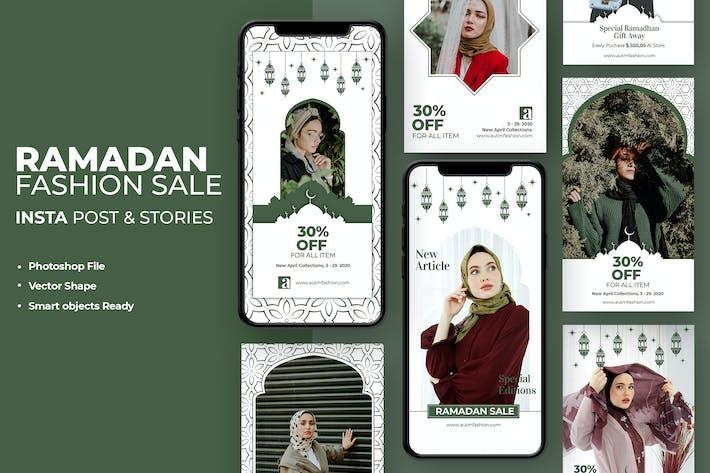 Thumbnail for Ramadan Kareem Fashion Instagram Template