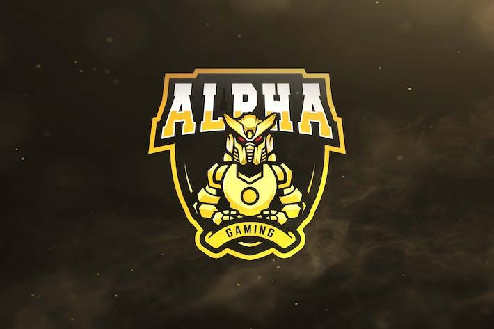 Thumbnail for Alpha Gaming Sport and Esports Logos