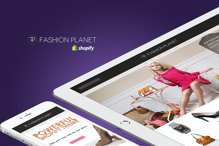 Thumbnail for Fashion Planet - Responsivo Shopify Tema