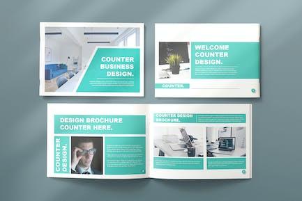 Counter Business Brochure - Landscape
