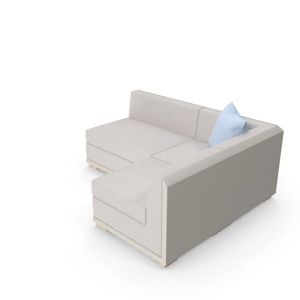 Cover Image for L Shaped Sofa