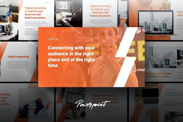 Capta - Digital Marketing Powerpoint Template