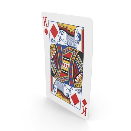 Spielkarten König der Diamanten