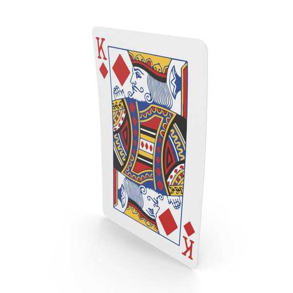Playing Cards King of Diamonds