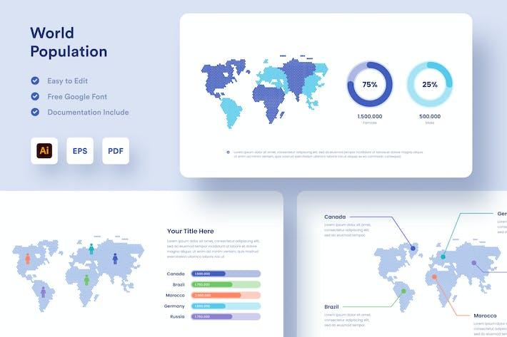 Карта Инфографика - Muzitemp