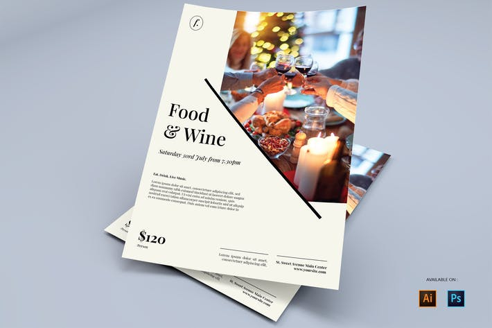 Fine Dining - Flyers Design