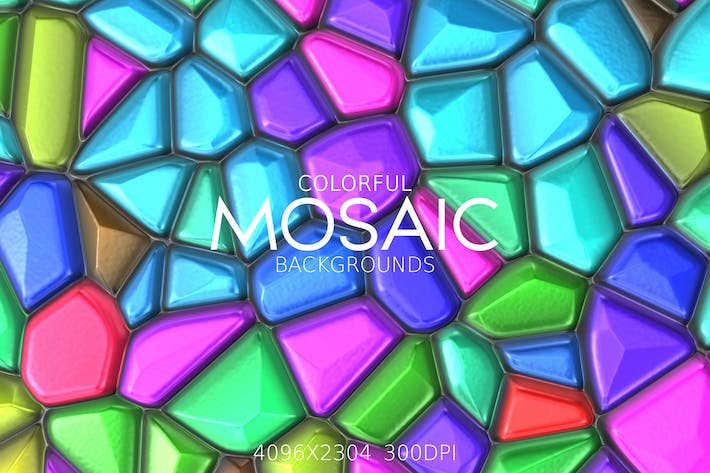 Thumbnail for Colorful Mosaic Backgrounds