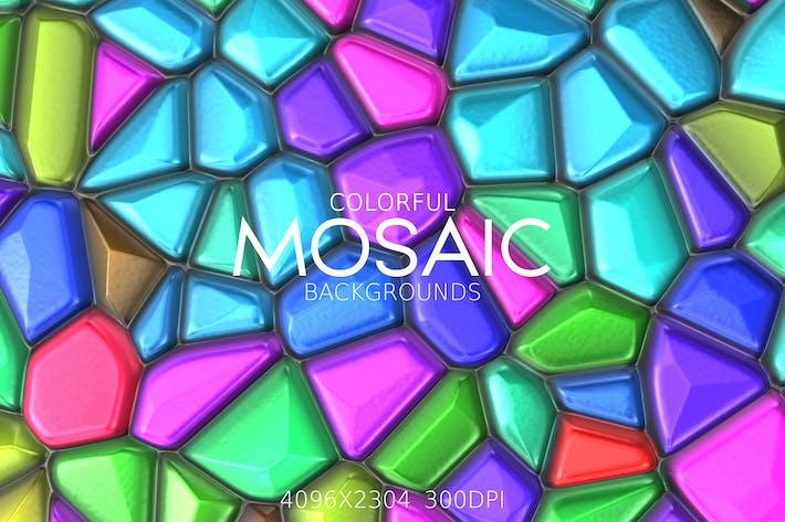 Bunte MosaikHintergründe