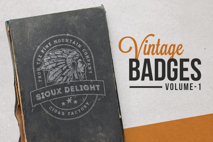 Thumbnail for Vintage Badges and Labels Vol.1