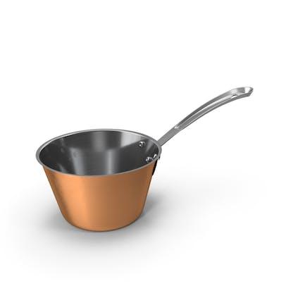 Copper Kitchen Sauce Pan