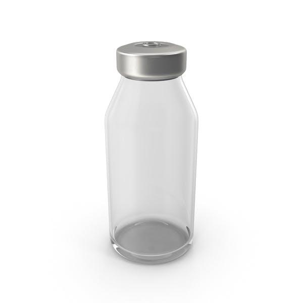 Бутылка вакцины пустой