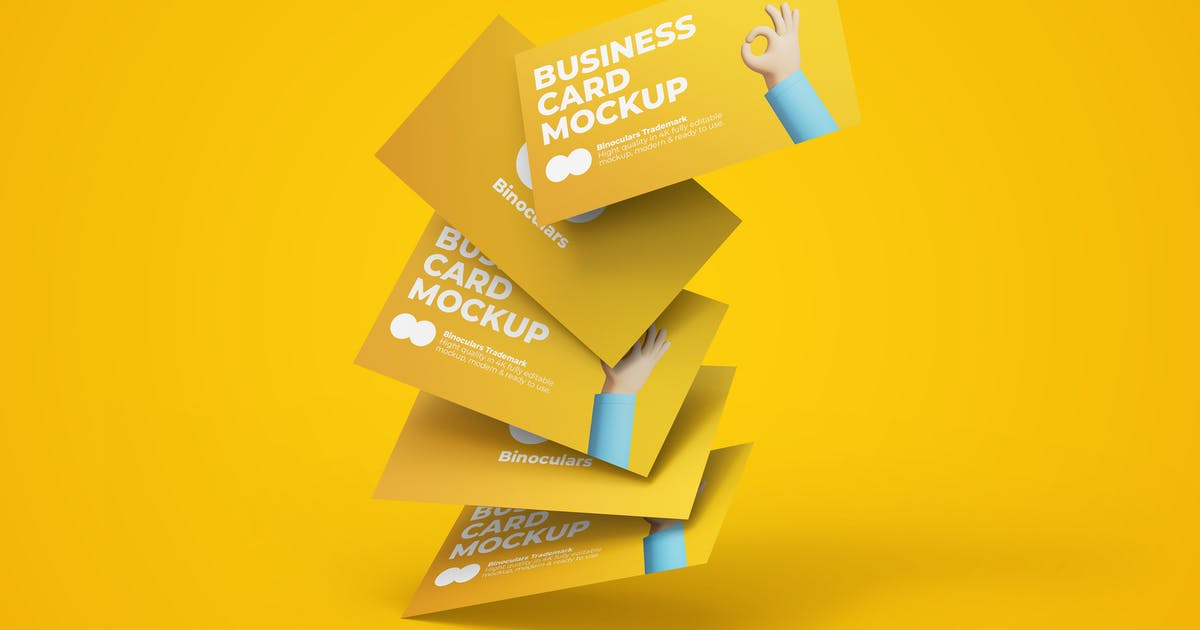 Download Creative Business Card Mockup by PrexTheme