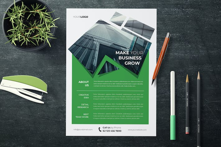 Thumbnail for Business Flyer Templates