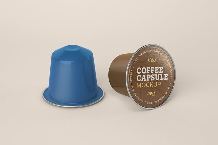Thumbnail for Coffee Capsule Mockup
