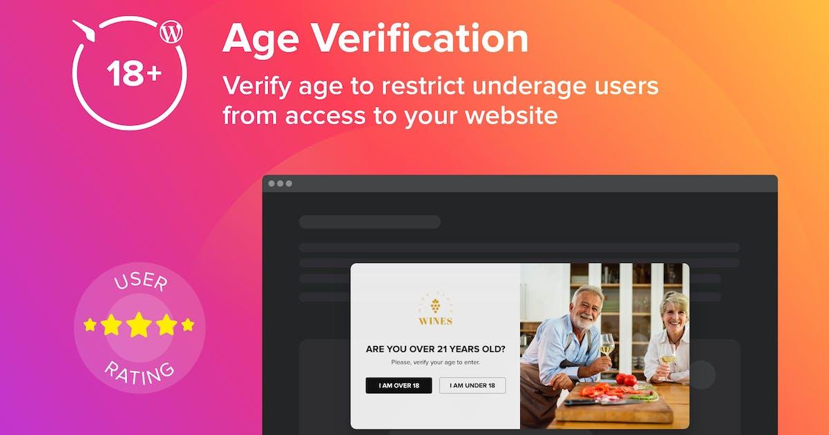 Download WordPress Age Verification Plugin by Elfsight