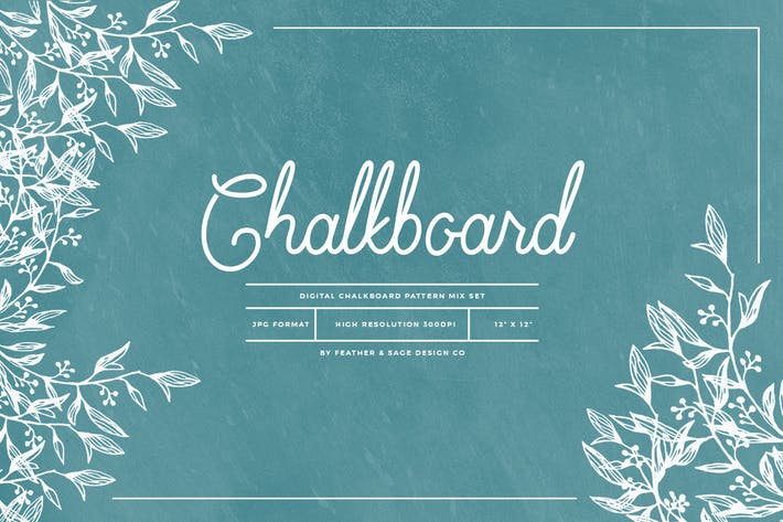 Thumbnail for Chalkboard Mix Patterns