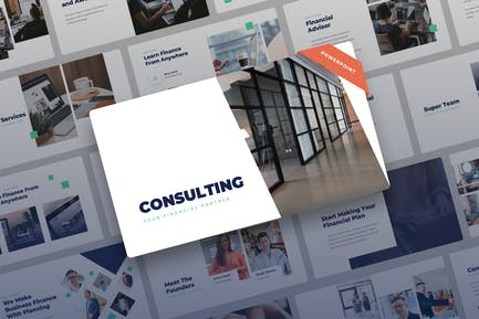 Consulting - Finance Power Point Presentation
