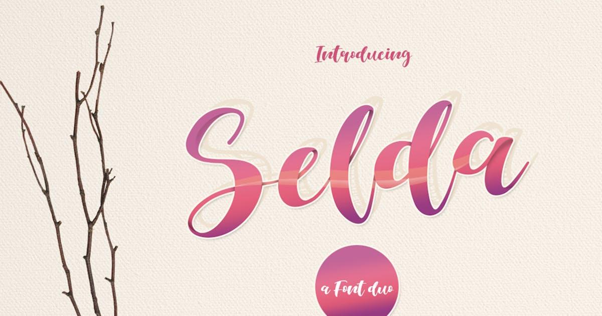 Selda Script Font Duo by khurasan