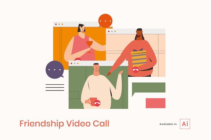 Thumbnail for Friendship Video Call