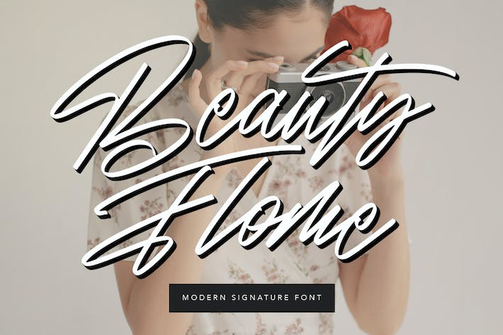 Thumbnail for Beauty Flome Signature - Fuente moderna