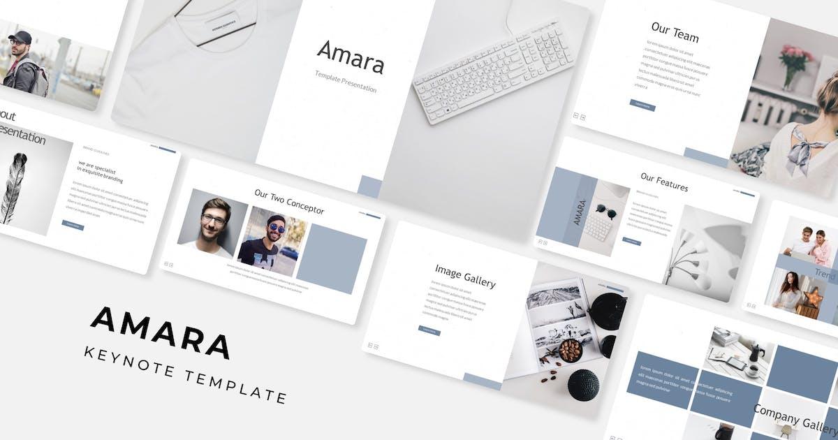 Download Amara - Keynote Template by IanMikraz