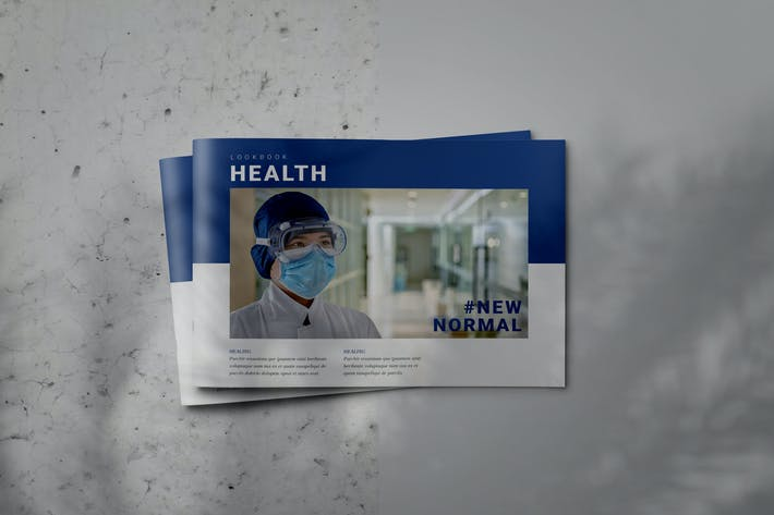 Thumbnail for HEALTH - Indesign Brochure Lookbook Template