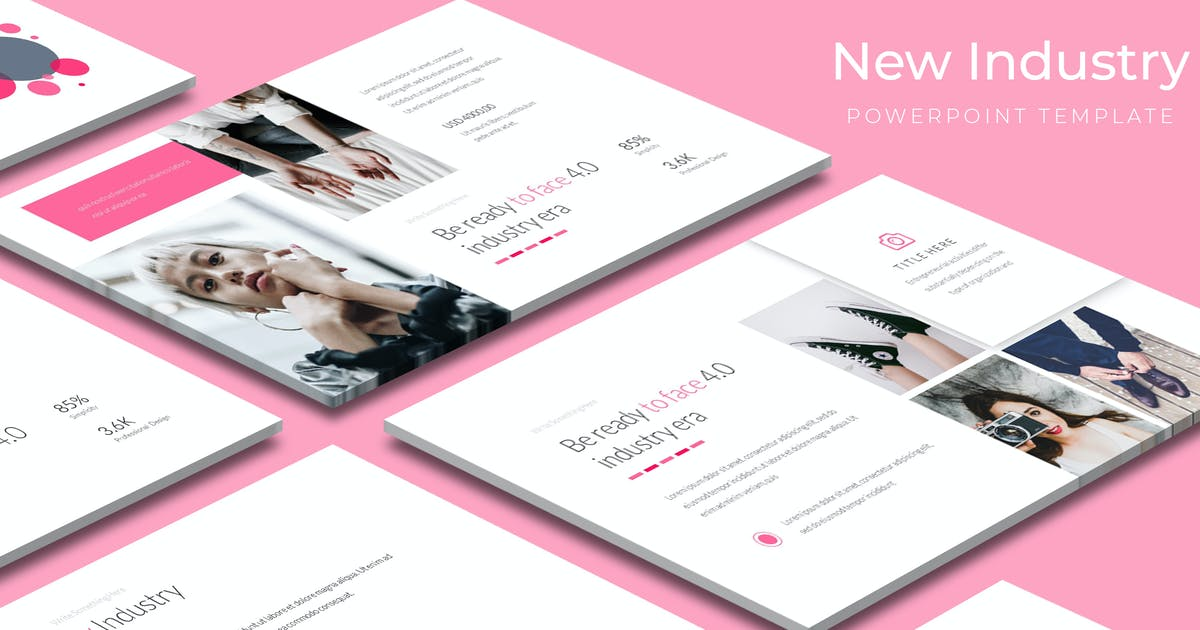 New Industry - Powerpoint Template by aqrstudio