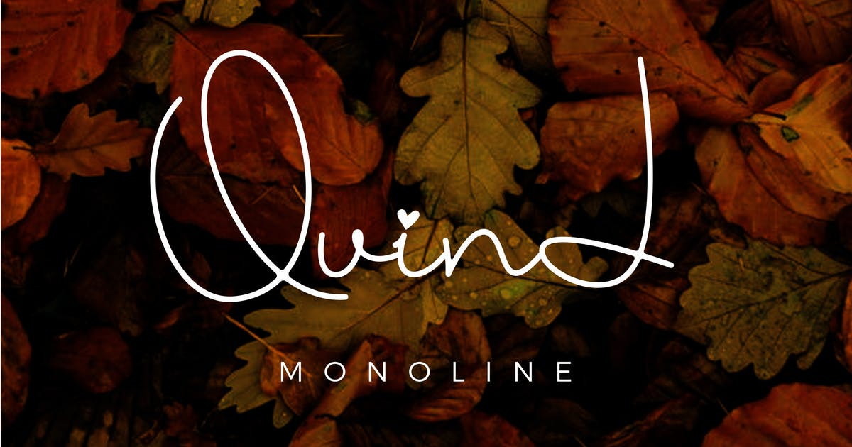 Download Quind Monoline Signature by Holismjd