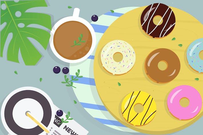 Thumbnail for Donuts-Illustration