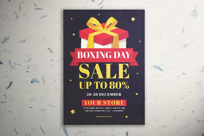 Thumbnail for Boxing Day Sale Flyer Vol. 02