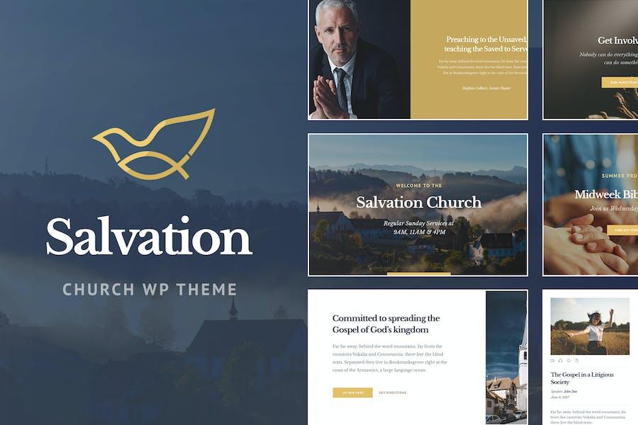 Salvation - Church & Religion WP Theme