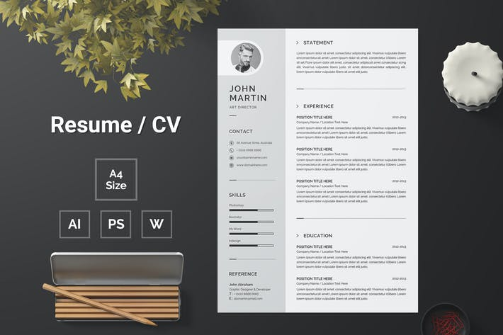 Thumbnail for Resume Template 130