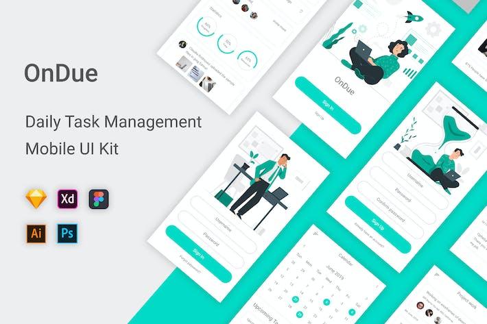 OnDue - Daily Task Management Mobile App